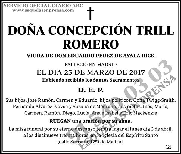 Concepción Trill Romero